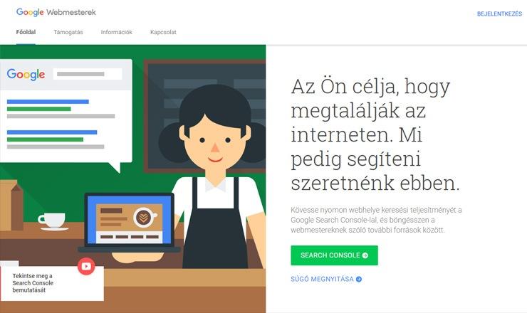 Google Webmester Eszközök - WordPress SEO