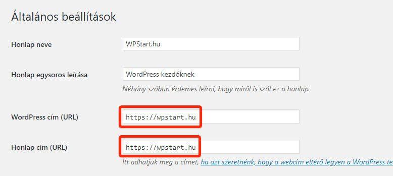 SSL beállítása WordPress-ben