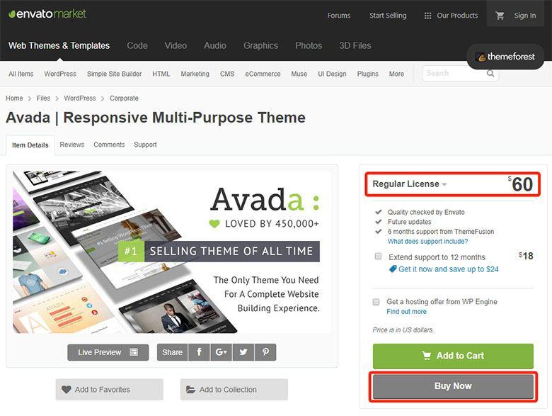 Avada letöltése - WordPress honlap sablon