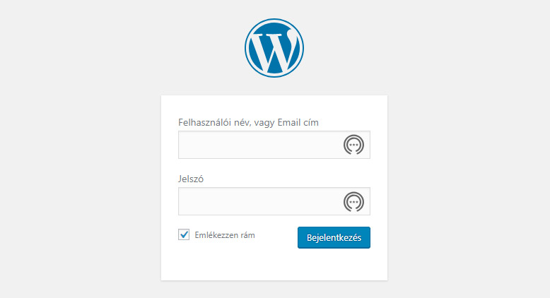 WordPress Vezérlőpult | WPStart.hu