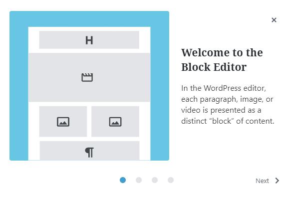 WordPress 5.4 újdonságok - Üdvözlő kép
