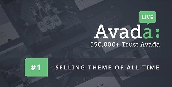 Avada WordPress sablon